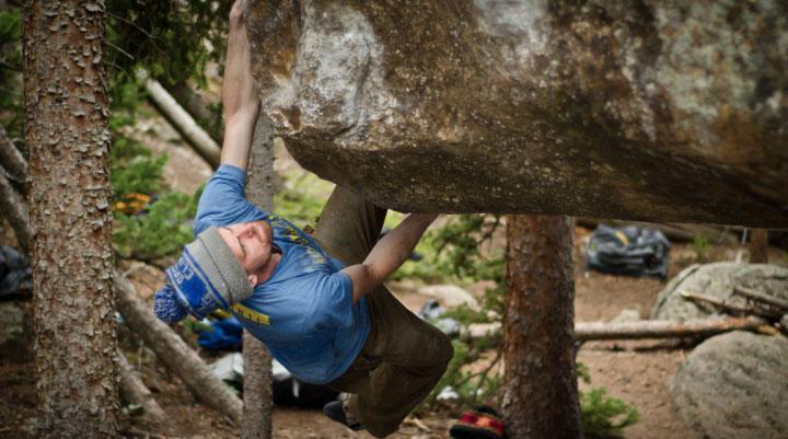 Jamie Emerson Bouldering