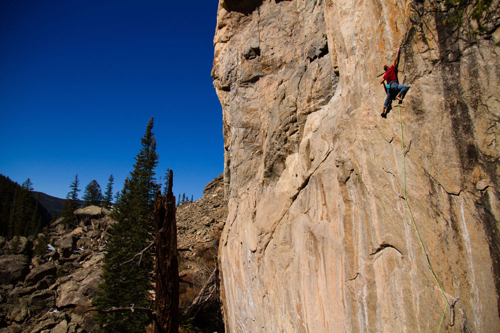 Author, coach, and pro climber, Mark Anderson on his new Independence Pass Testpiece, Insurrection, 5.14c